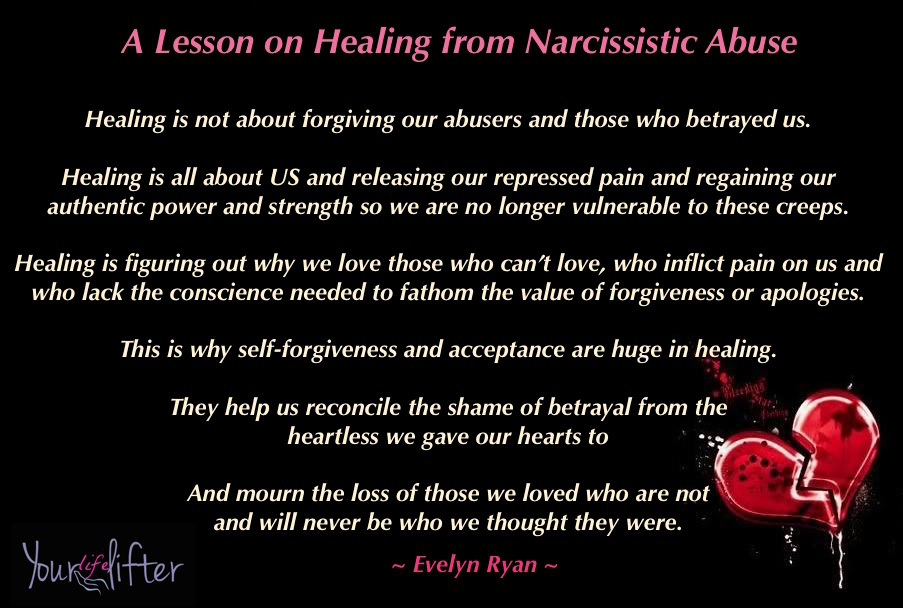 Pain of narcissistic abuse