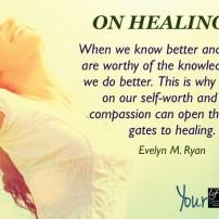On healing