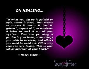 Healing Henry Cloud